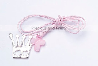Crown necklace witness pins for Greek Christening KL13