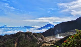Informasi Jalur Pendakian Gunung Papandayan