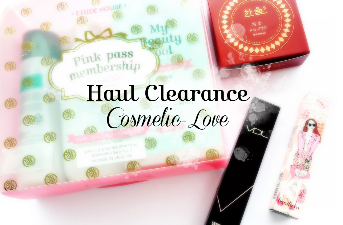 Haul] Clearance in Cosmetic-Love | Korean Beauty Dream