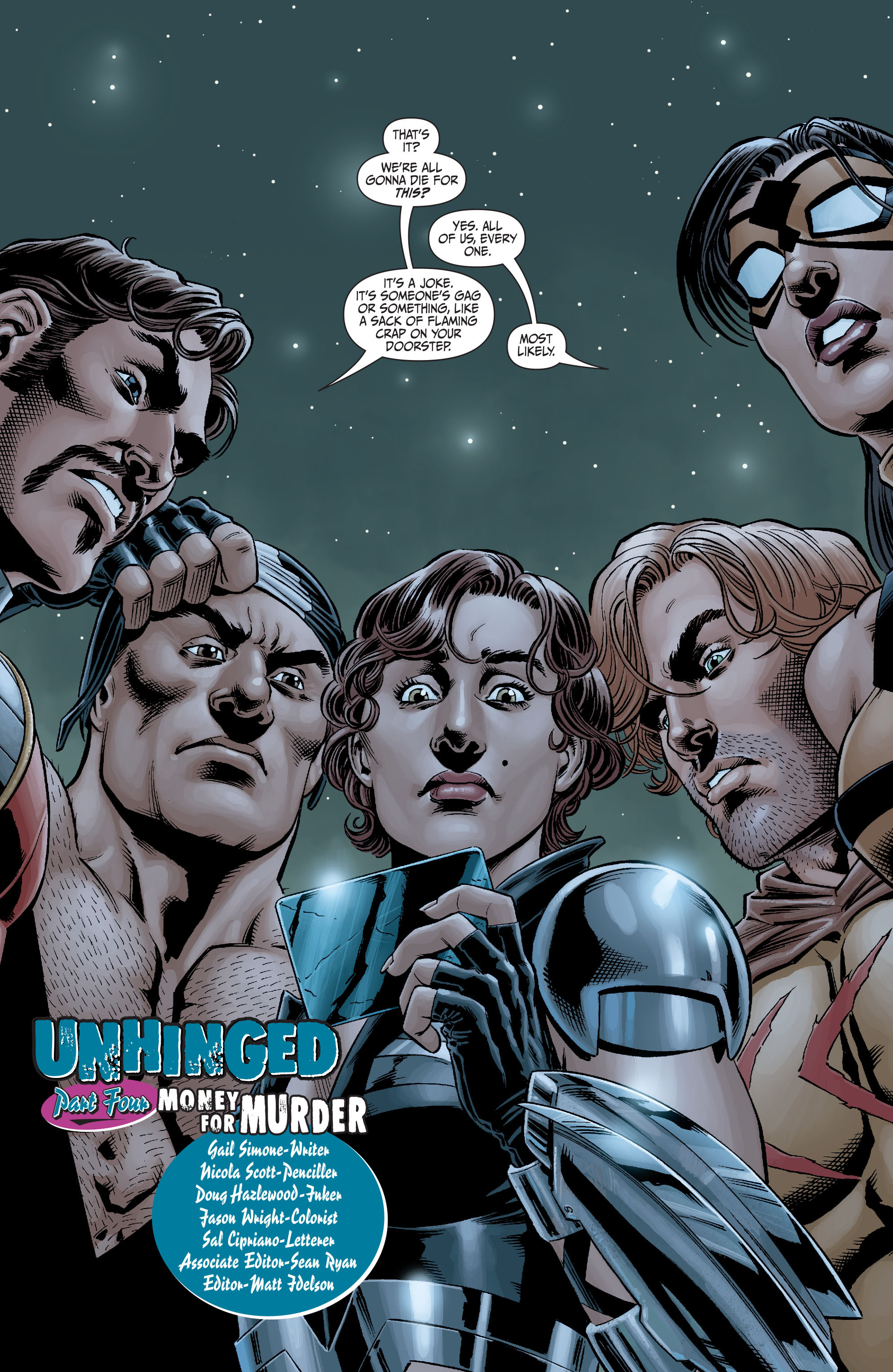 Read online Secret Six (2008) comic -  Issue #4 - 2