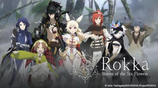 Rokka no Yuusha - Daftar Anime Fantasy Terbaik Sepanjang Masa