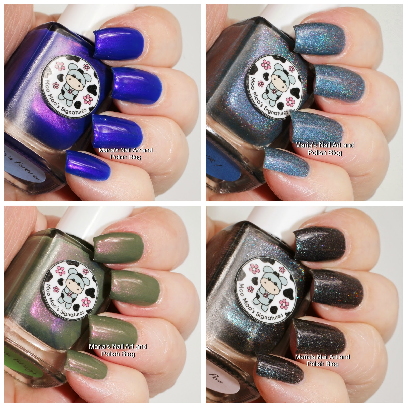 Marias Nail Art and Polish Blog: Moo Moo Signatures Moo Moo\'s Story ...
