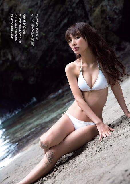 Uchida Rio 内田理央 Weekly Playboy August 2016 Pictures 03