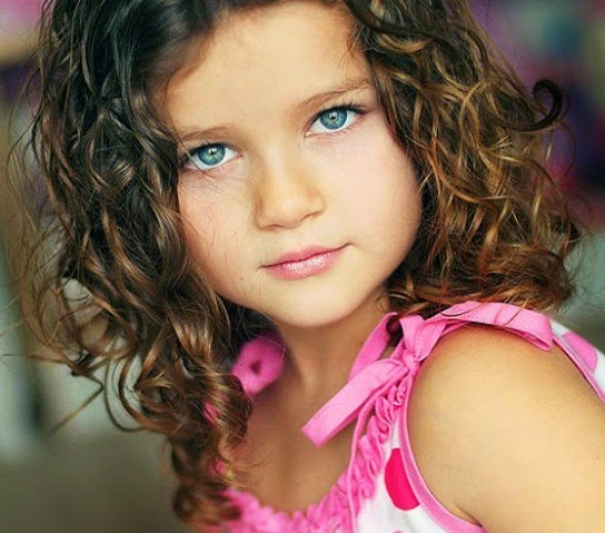 Model rambut perempuan anak lucu