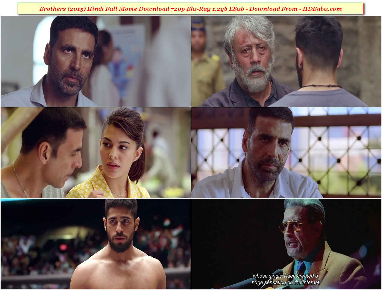 Brothers Full Movie Download