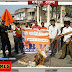 मामला पेपर लीक का: एबीवीपी ने जलाया सीएम तथा बीएसएससी सचिव का पुतला