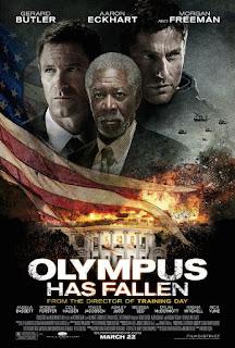 Sinopsis Film Olympus Has Fallen 2013