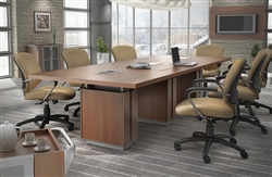 Global Total Office Zira Conference Tables at OfficeFurnitureDeals.com