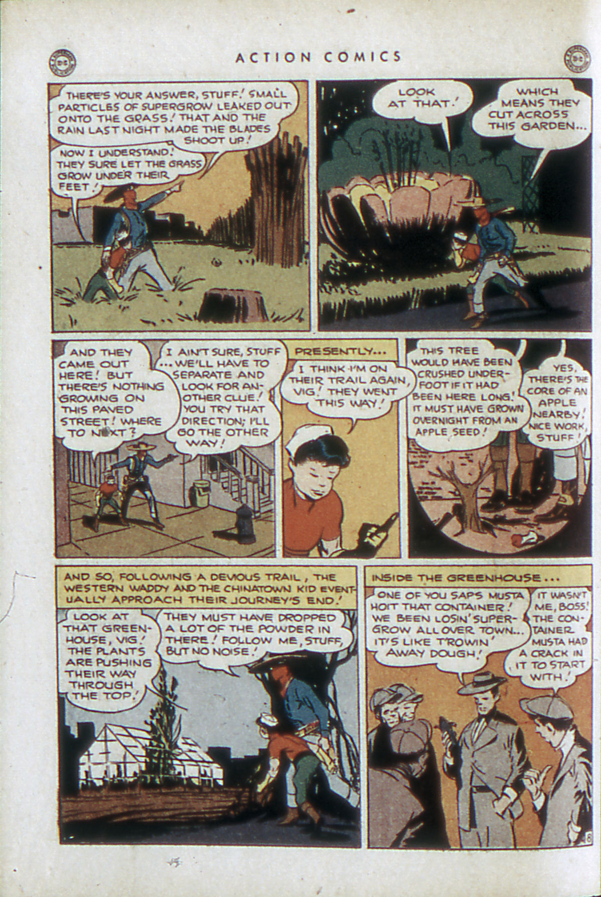 Read online Action Comics (1938) comic -  Issue #84 - 39