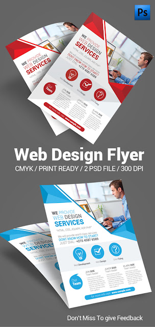 Web Design, web banner, banner, business flyer, corporate flyer, print flyer, template