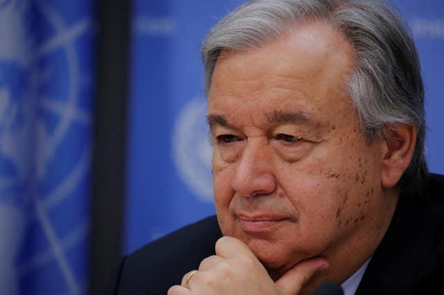 Ο γ.γ. του ΟΗΕ ρεζίλεψε τον ψεύτη Τσαβούσογλου
