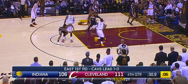 HIGHLIGHTS: Cleveland Cavaliers vs. Indiana Pacers (VIDEO) Game 2 / East 1st Round