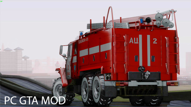DOWNLOAD Ural 375 Firetruck FOR GTA San Andreas