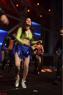 Sunny Leone Dancing on stage At Rogue Movie Audio Music Launch ~  013.JPG