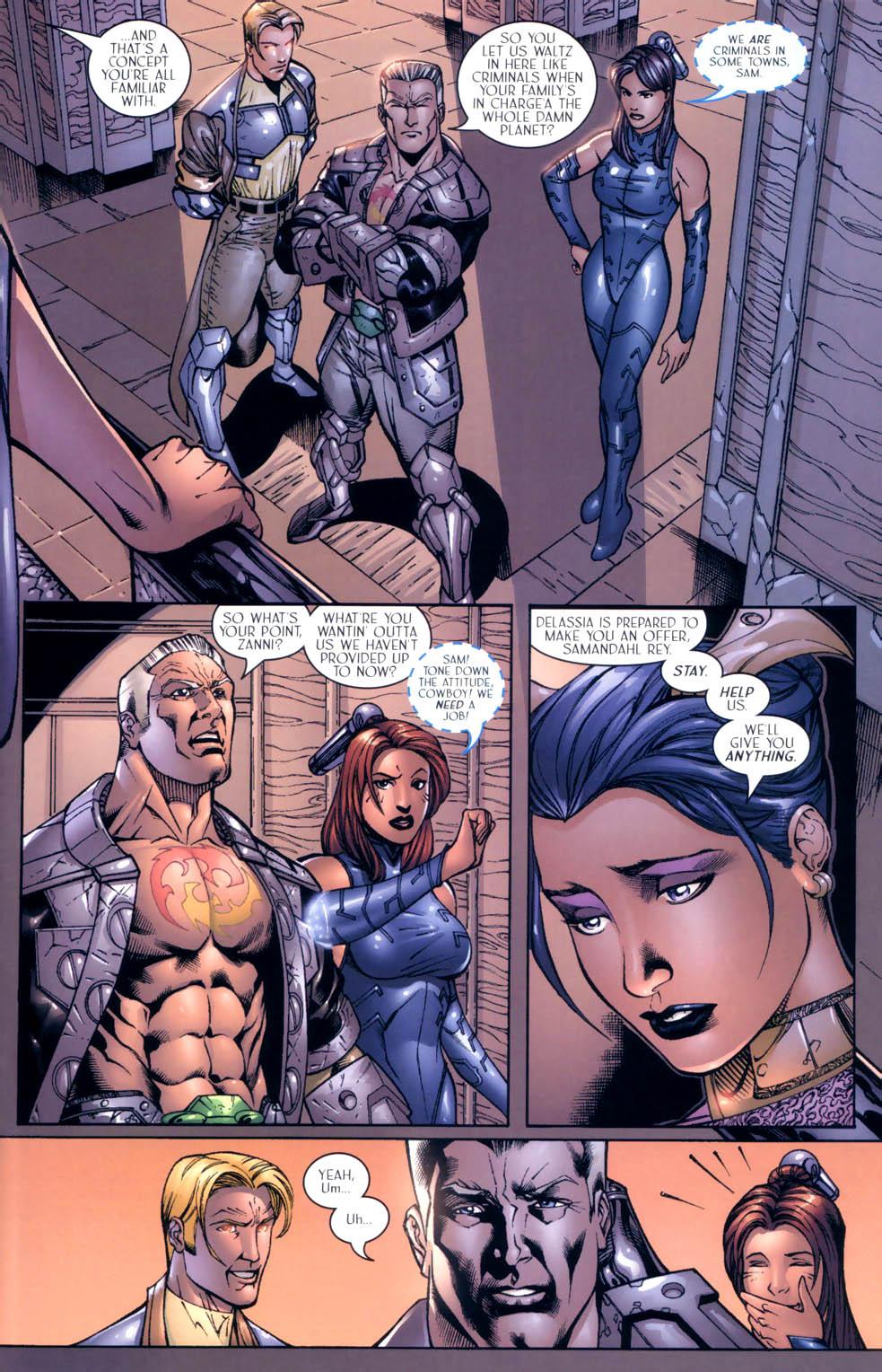 Read online Sigil (2000) comic -  Issue #9 - 5