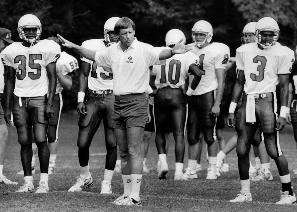 Former Furman coach Dick Sheridan compiled a 52-29-3 record as NC State's  head coach from 1986-92) and went to six bowl games in seven seasons.