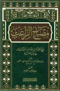 مصباح الراغب شرح كافية ابن الحاجب المعروف بحاشية السيد - محمد بن عز الدين المفتي الكبير