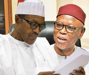APC CHAIRMAN ODIGIE-OYEGUN INSISTS - BUHARI IS SENT FROM GOD TO SAVE NIGERIA