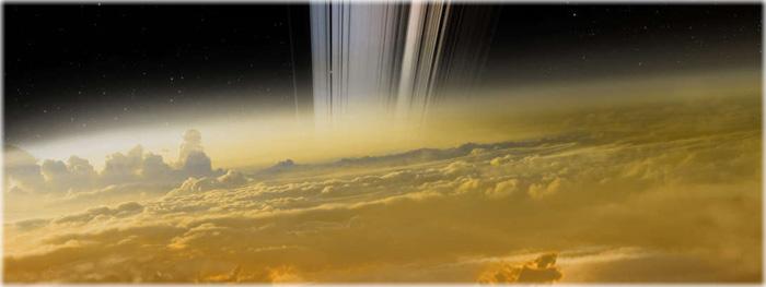 ultima imagem da sonda cassini em saturno