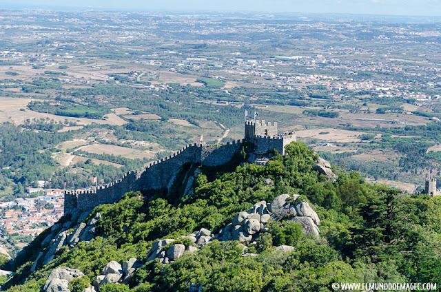 Qué ver en Sintra. Visita de un día. Castelo dos Mouros