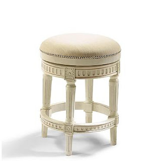 Manchester Backless Stool from Frontgate - Calypso in the Country blog
