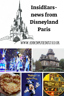 InsidEars news from Disneyland Paris