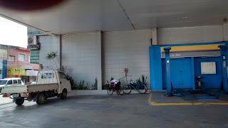 Posto que abastece até ciclistas