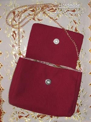 вышитый клатч, женская сумочка ручной работы, ручная работа, сумка своими руками, Елена Господинова