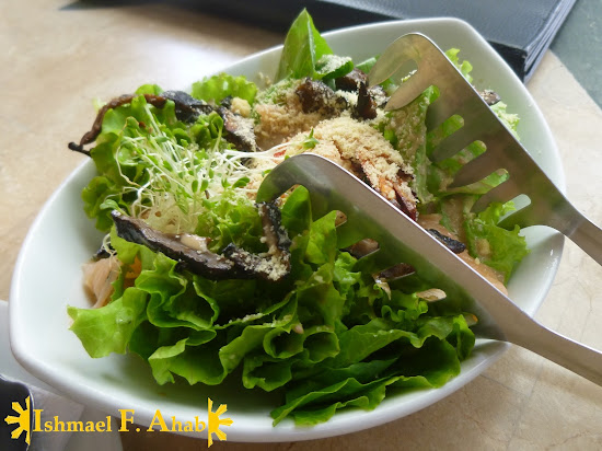 Tessie Tomas Salad in Uncle Cheffy at Nuvali Park