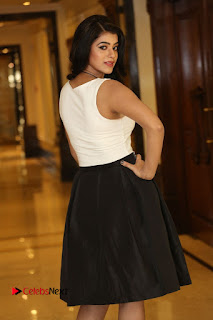 Actress Yamani Bhasker Pictures at Apartment Movie Audio Launch  0026.JPG