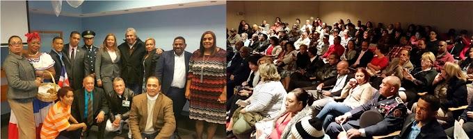 Castillo se reúne con dominicanos en Connecticut reafirmando compromiso de servicios