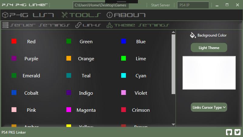 PS4 PKG Linker (A PC -GUI for flatz' Remote pkg installer) by pink1