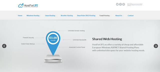 HostForLIFEASP.NET offer the Best & Cheap Hosting for Joomla 3.4.4