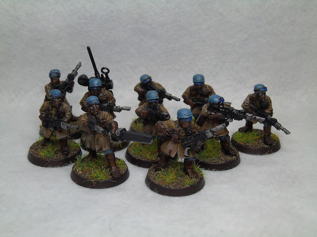 Steel Legion Games Workshop Infantry Squad Imperial Guard
