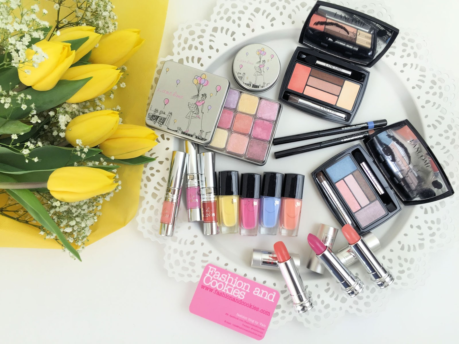 Lancôme makeup collection for Spring 2016 My Parisian Pastels on Fashion and Cookies beauty blog, beauty blogger