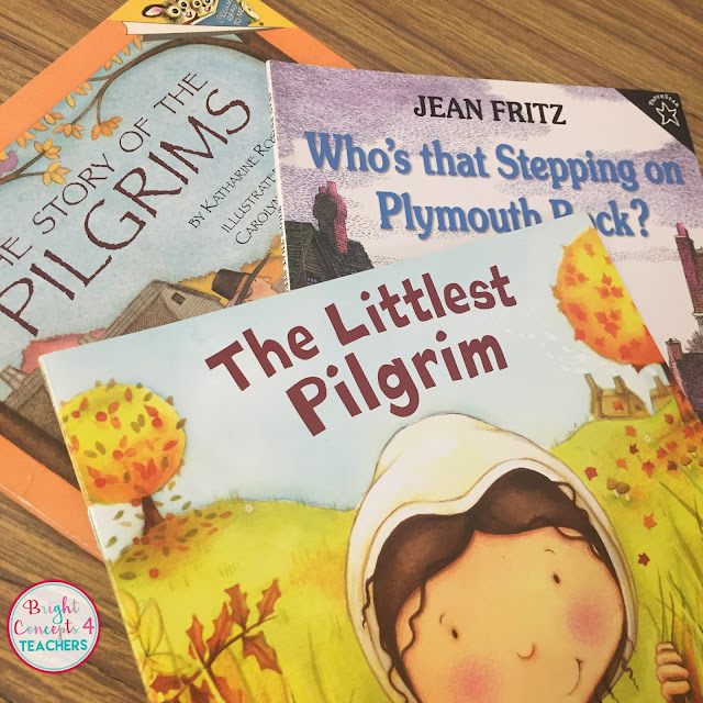 These fall Thanksgiving books are great for fall read alouds