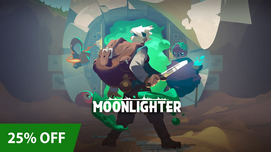 moonlighter xbox pixel art sale