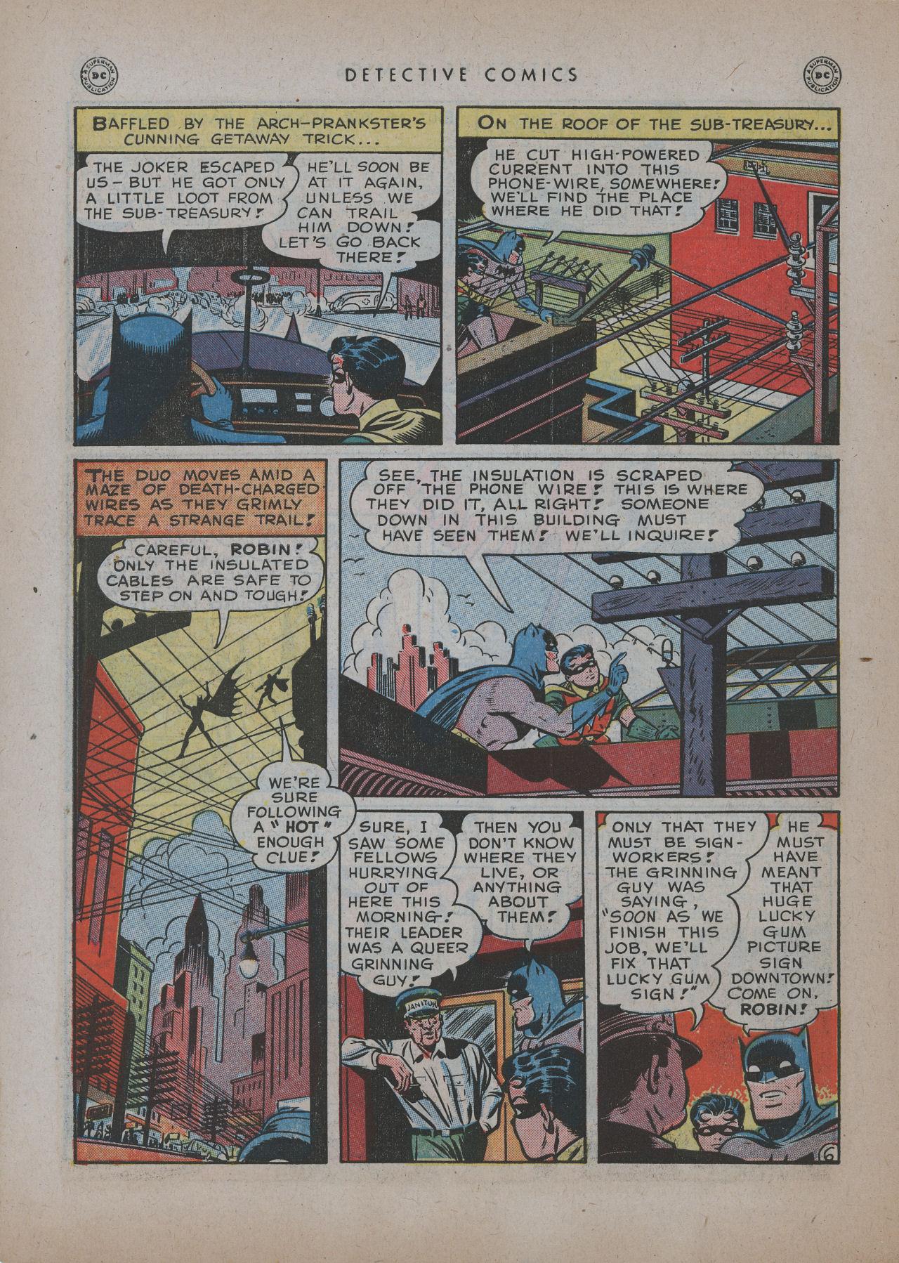 Read online Detective Comics (1937) comic -  Issue #137 - 8