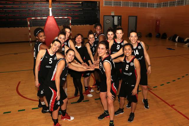 Baloncesto | El Ausarta Barakaldo EST se impone de 18 al La Salle y asegura la cuarta plaza