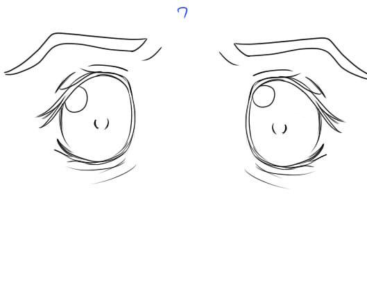 iDoNTeVenKnoW: Drawing anime eyes v1