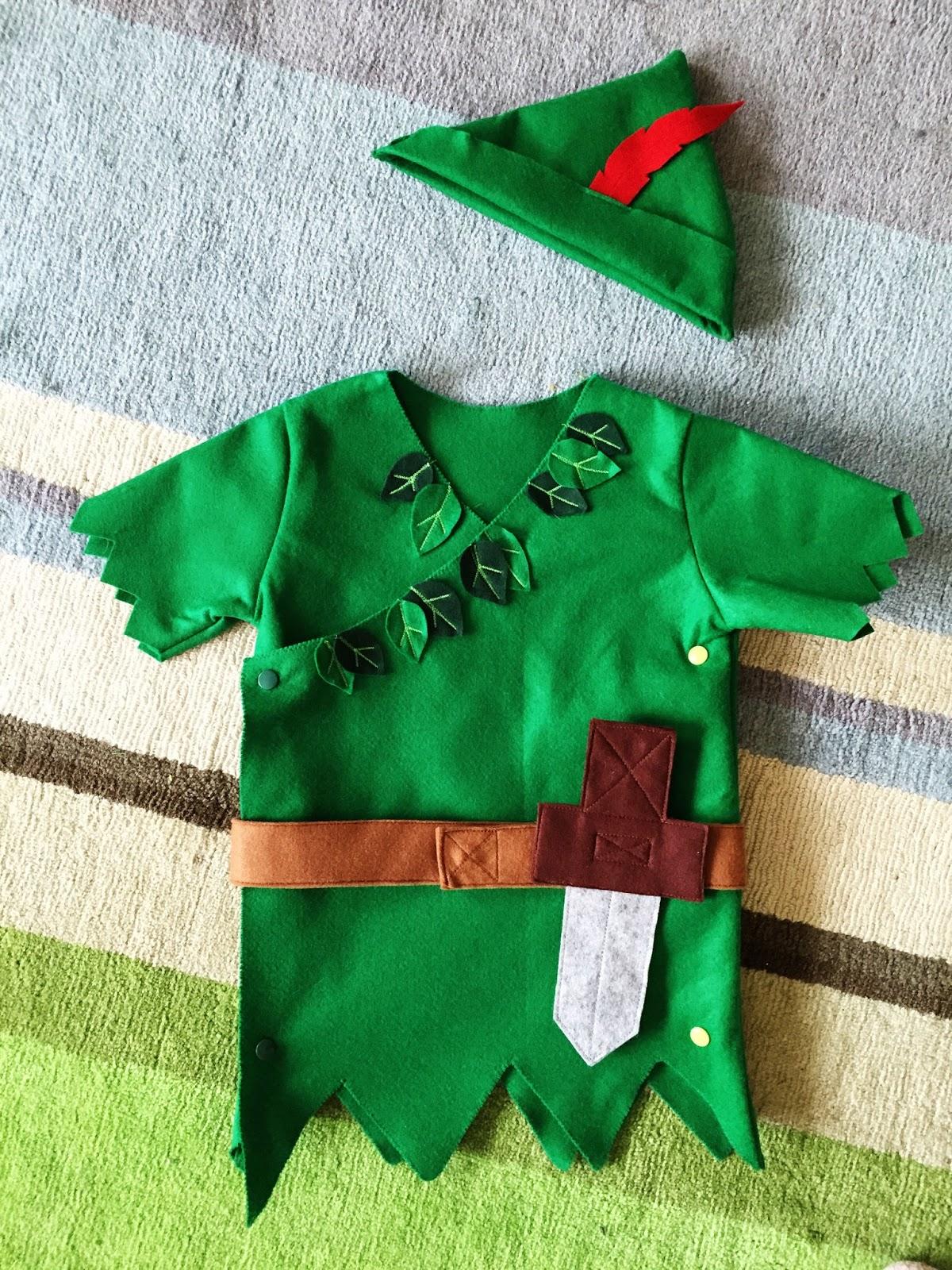 Bilder Zu Peter Pan Kostüm Selber Machen