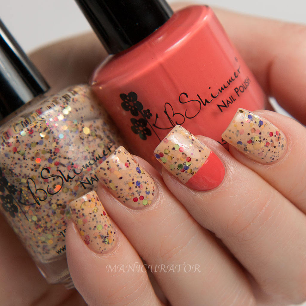 KBShimmer Winter 2015 How Corn-y and For Fox Sake Simple Nail Art ...