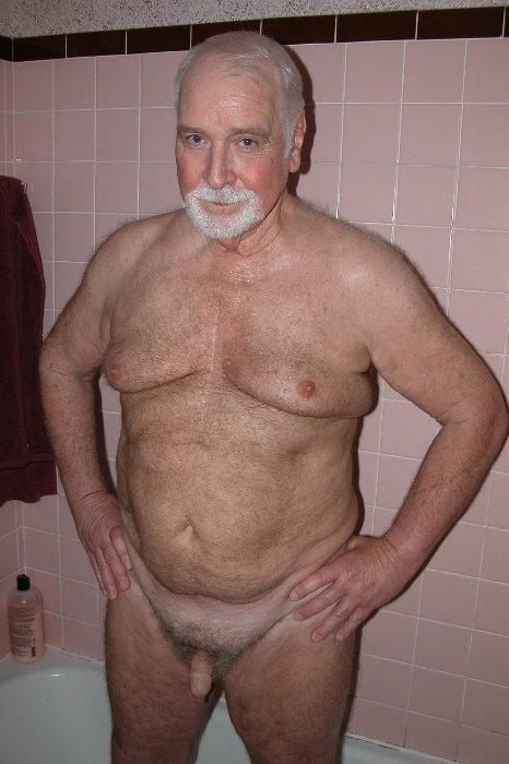 Nude old men
