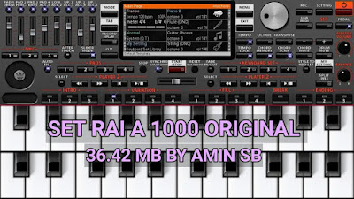 set rai A1000 by Amin sb 36.42 Mb org2019 original