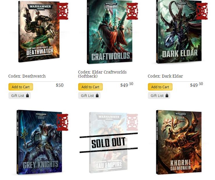 Last Chance To Buy Codices Faeit 212 Warhammer 40k News