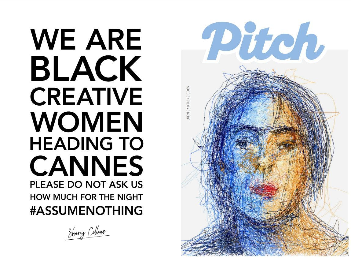 Where An Executive Presumed She Was A Prostitute. Nice. Collins  Launched A Campaign—#assumenothing—After Learning That Other Black Female  Creatives Had