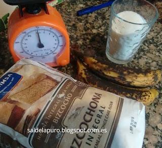 bizcocho-vegano-chocolate-plátano