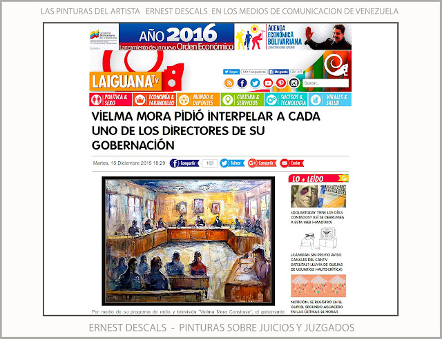 JUZGADOS-JUICIOS-PINTURA-ARTISTA-PINTOR-ERNEST DESCALS-PINTURAS-NOTICIAS-VENEZUELA-TELEVISION-LA IGUANA TV