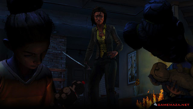 The Walking Dead Michonne Gameplay Screenshot 2