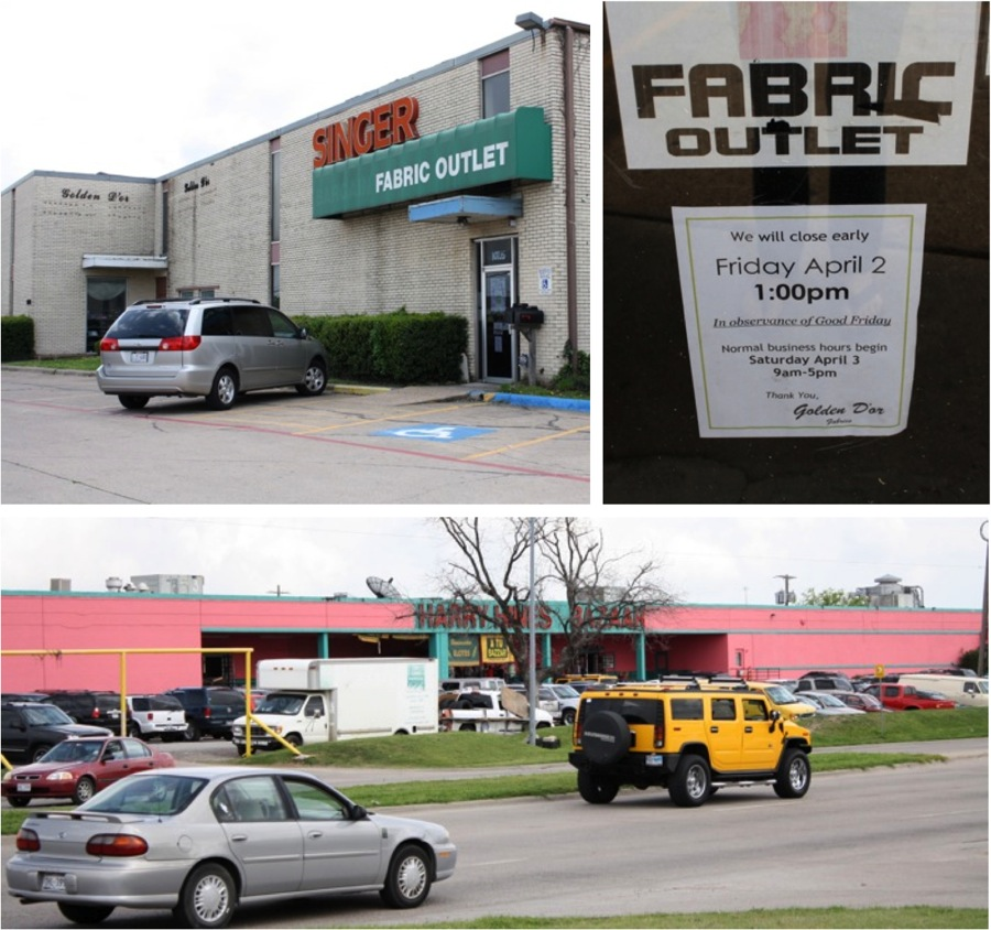 Shopping for fabric in Texas – MADE EVERYDAY